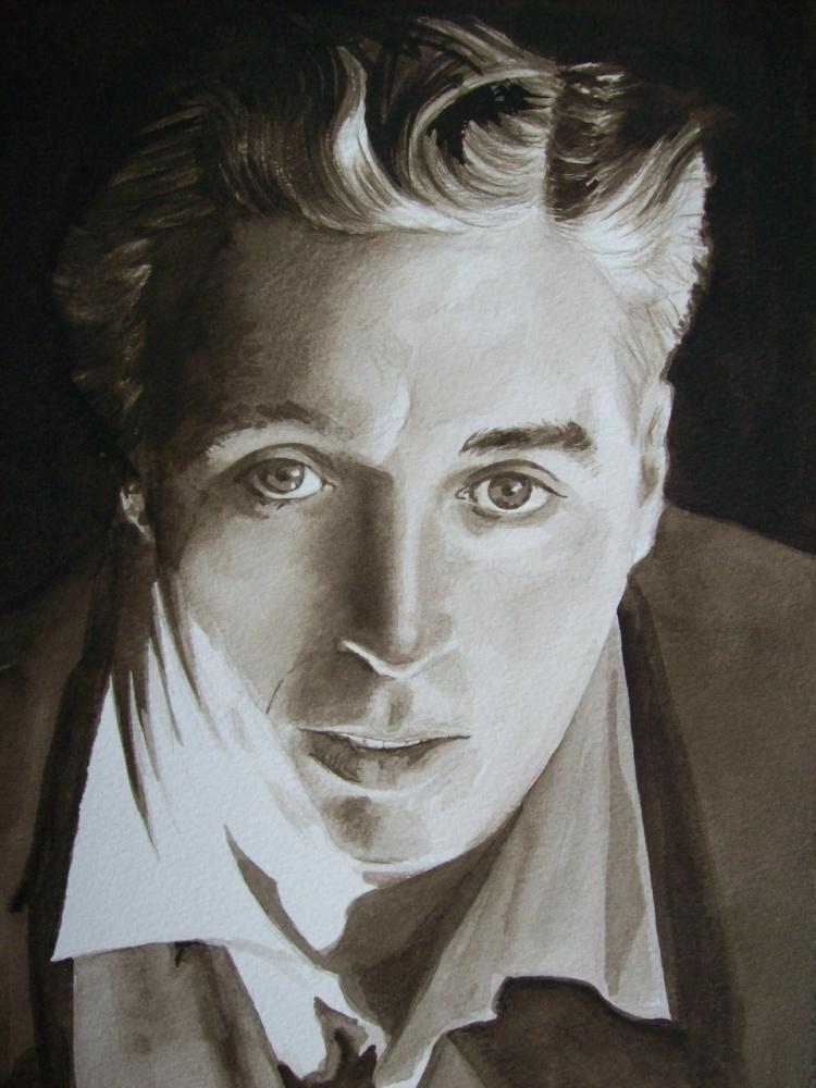 Charlie Chaplin by Tom-Heyburn